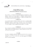 Anexo Reglamento Tribunal de Arbitraje Deportivo de la FEDEFUT