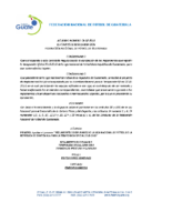 Reglamento Disciplinario 2018-2019