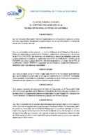 Reglamento Serie Definitoria Concacaf 2018-2019